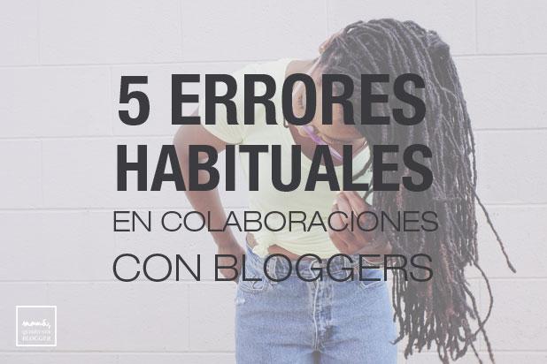 colaboraciones con bloggers