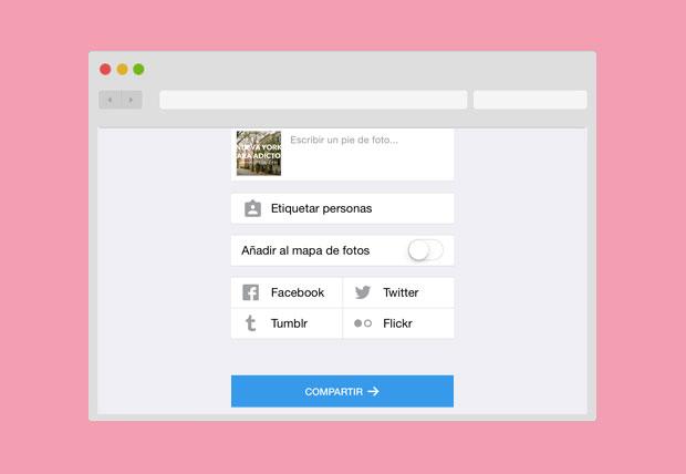 publicacion-instagram-diferentes redes sociales