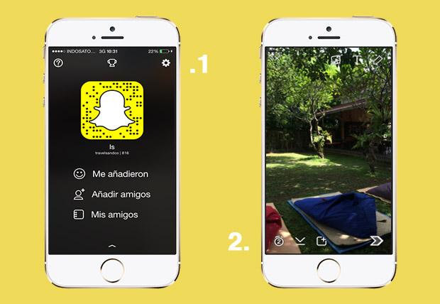 Tutorial de Snapchat